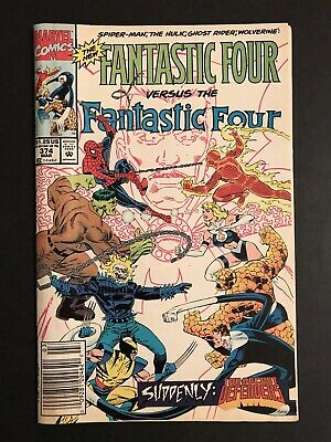 1993 Marvel Vol 1 #374 New Fantastic Four vs Fantastic Four by DeFalco and Ryan