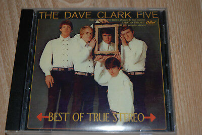 CD  THE DAVE CLARK FIVE - Best of True STEREO - 24 Bit DIGITAL REMASTERED - rar!