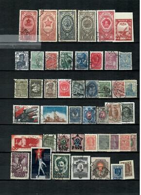 Russia Collection Of  Used    Of Different Classic Stamps -  Lot (Rus 334)