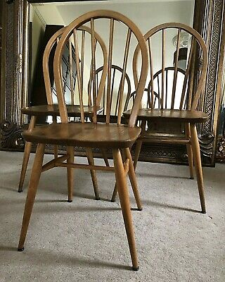 Ercol Windsor Dining Chairs Windsor 400 Originals Professionally Refurbished
