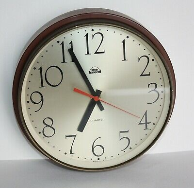 Smiths Timecal Rare Wall Clock retro vintage