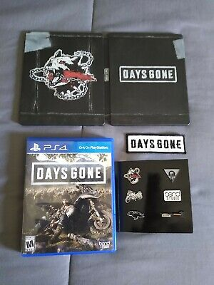 Days Gone Special edition. Plus codes & steelcase