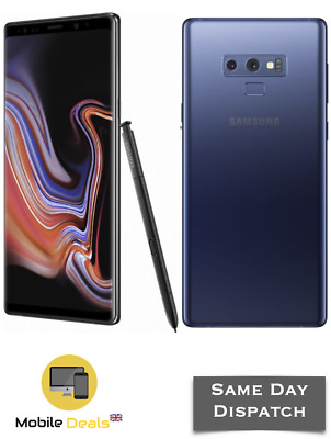 Samsung Galaxy Note 9 128GB & 512GB LTE 4G Unlocked Android Smartphone 2 Colours
