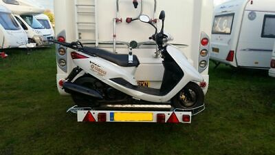 Towbar Mounted Scooter Rack Motorhome Camper Van 4X4'S Vans Carrier