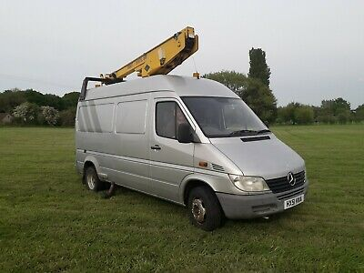 Mercedes Sprinter van mounted cherry picker Versa Lift 36NF