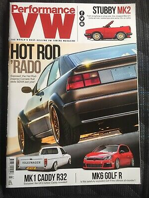 PERFORMANCE VW MAGAZINE(s) - July 2016 (lots More Mags In My Ebay) MK1 Caddy R32