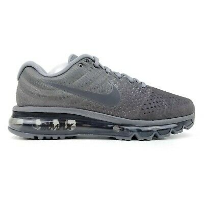 af90e31c Nike Air Max 2017 Men's Running Shoes Anthracite Dark Grey 849559 008 Sizes  6-12