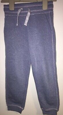 Girls Age 4-5 Years - Jogging Bottoms - Cuffed Blue