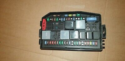 jaguar x type fuse box 4x43-14a073-db tested good relays and fuses !