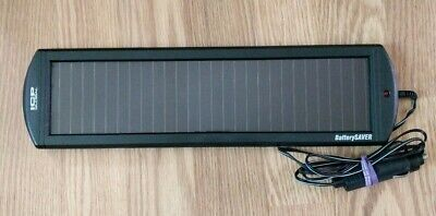 ICP GLOBAL TECH Battery Saver Solar Powered Trickle Charger (12V) Cycle Auto