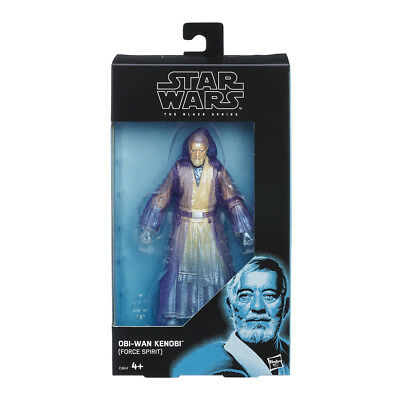 Star Wars The Black Series Figura Obi Wan Kenobi Force Spirit (Hasbro C3247)