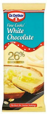 Dr. Oetker Fine Cook's White Chocolate (4x150g)