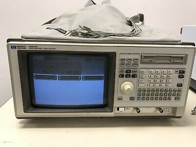 HP 1661AS Portable Logic Analyzer and Oscilloscope Works Great