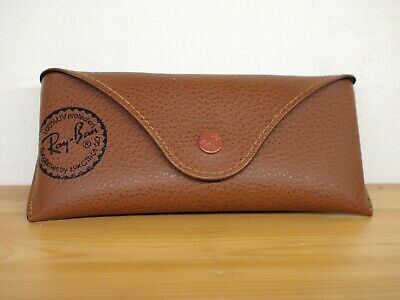 Ray-Ban Case Box Astuccio marrone originale occhiali da sole o vista Sunglasses