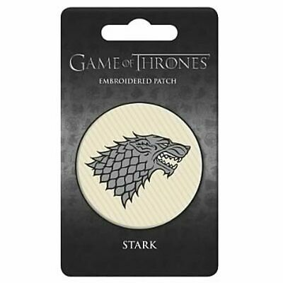 Game of Thrones House of Stark Embroidered Patch!