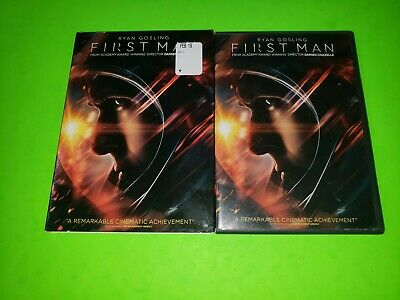 First Man DVD 2018 2019 TESTED VERY GOOD Ryan Gosling Moon Landing NASA Apollo