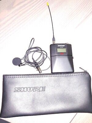SHURE ULXD1 Wireless Bodypack Transmitter! G50 Band 470-534 MHz with mic