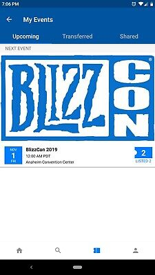 BlizzCon 2019 Two Passes