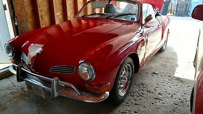 1971 Volkswagen Karmann Ghia -FUN CONVERTIBLE FOR THE OPEN ROAD-WELL KEPT CONDI Red Volkswagen Karmann Ghia with 0 Miles available now!