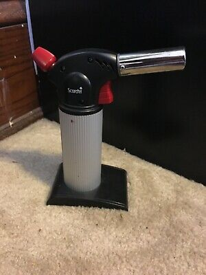 """Scorch Torch Cigar Adjustable Flame Lighter 8"""" inches"""
