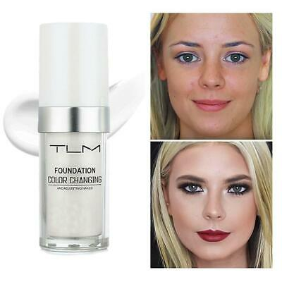 NEW Magic Color Changing Foundation TLM Makeup Change Hig Your Tone To Skin J7C4