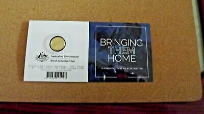 2019 Bring Them Home - 100 Years of Repatriation $2 Coloured Coin - 'C' Mintmark