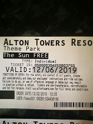syA2 X Alton Towers Tickets for Wednesday 12th June 2019,40