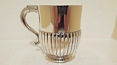 Antique Silver Tankard 1881