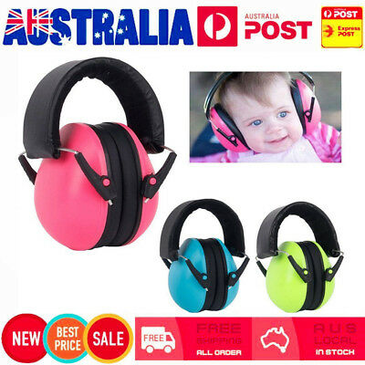 Autistic ASD Hypersensitive Infant Kids Children Defenders Noise Ear Muffs QS