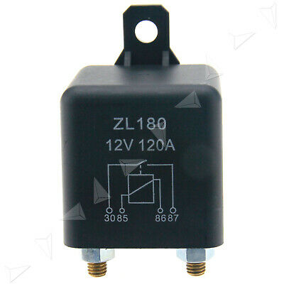 12V 120A Heavy Duty Split Charge On/Off Relay Car Van Boat 4 Pin