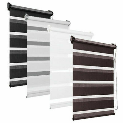 Window Roller Blinds Day And Night Zebra Vision Striped Multi Sizes and Colours