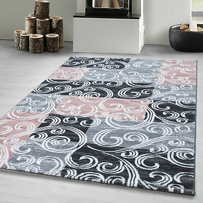 Victorian Style Rug Traditional Novelty Carpets Small Large Home Floor Mats Pink