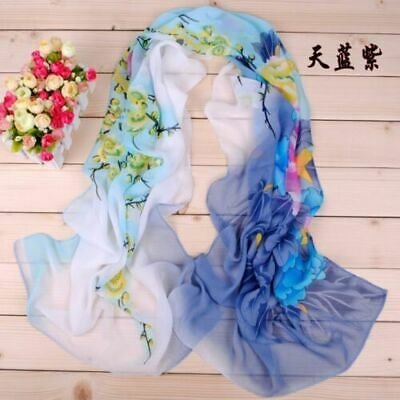 Moda Donne Women Long Soft Wrap scarf Ladies Shawl Chiffon Sciarpa Scarves BU