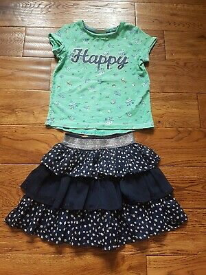 Girls ~ Next & Matalan Outfit ~ Size 4-5 Years ~ Vgc ~ Ref  Box A22