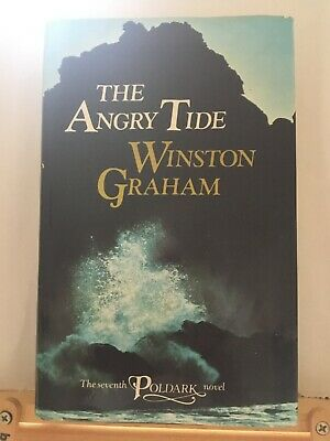 The Angry Tide by Winston Graham, 7th Poldark book, hb 1st Edition in jacket