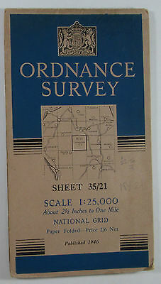 1946 old OS Ordnance Survey 1:25000 First Series Prov map NY 21 Borrowdale 35/21