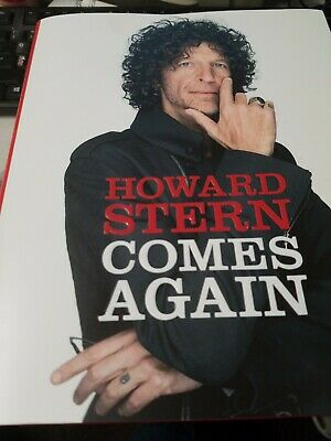 Howard Stern Comes Again by Howard Stern Hardcover 2019, Brand New