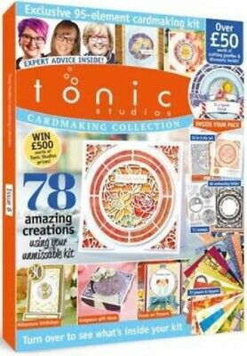 Tonic Studios Card Making Collection Magazine Issue #8 - 2019 ~ New Sealed Pack