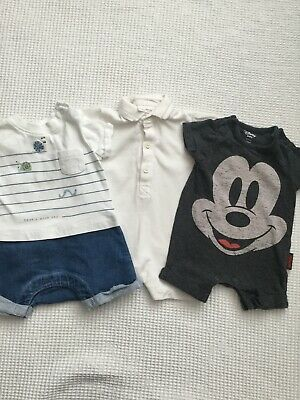 Next, Mothercare Baby Boys Newborn, Upto 1 Month Summer Rompers Combined Postage