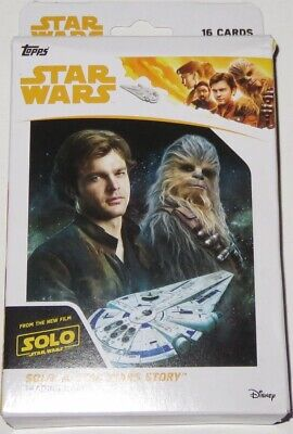 2018 Topps Solo: A Star Wars Story Series 16-Card Hanger Box Brand New & Sealed