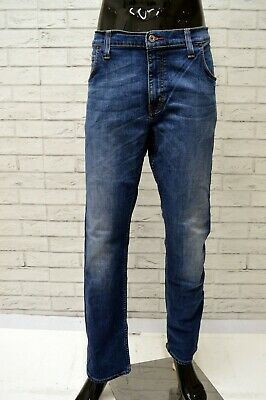 Mustang New Oregon Tapered Pantaloni Jeans Uomo Slim Fit w30 l34 NUOVO