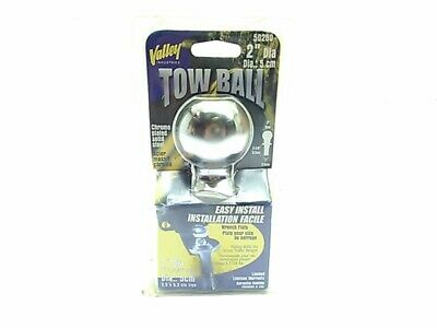 """VALLEY 2"""" trailer TOW BALL  50280 HITCH TOW TOWING"""