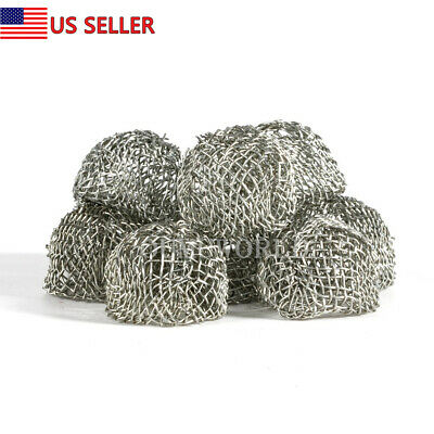 Pipe Screens Tobacco Smoking Pipe Net Metal Bowl Filter Screen Ball 10 pcs 16mm