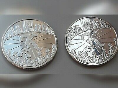 NEW A-Z 2018 ALPHABET 10p COIN HUNT- LETTER K-KING ARTHUR  UNCIRCULATED x 2