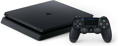 New Open PS4 Sony PlayStation 4 Slim 1TB Jet Black Console With All Accessories