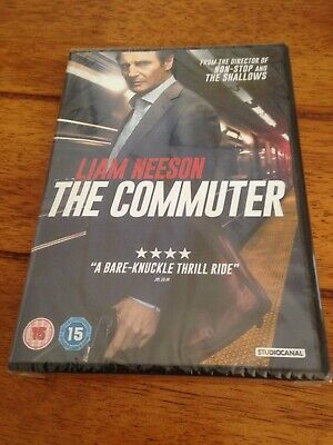 The Commuter [DVD] [2018] - Region 2 UK