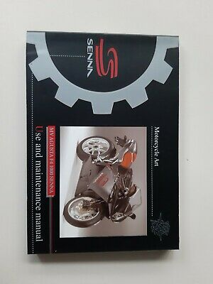 Owner's Manual use and maintenance manual MV Agusta F4 Senna Limited Edition New