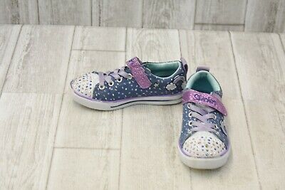 cdd3f09d73ad **Skechers Sparkle Lite Unicorn Craze Shoe- Little Girl Size 12 - Lavender