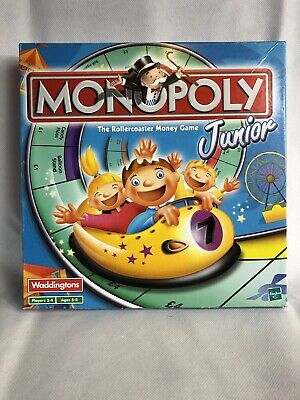Hasbro Monopoly Junior board game (the Rollercoaster Money Game)