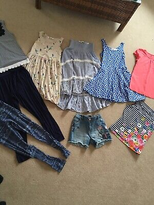 Large Girls Clothes Summer Bundle Age 8-9. H&M. TU. George. Great Condition